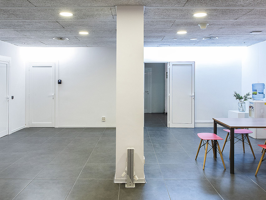 Coworking Vilanova espai polivalent